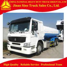 Sinotruck Howo 25m3 stainless steel 6x4 water tank truck
