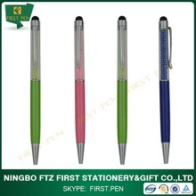 Wholesale - Rhinestone Stylus Touch Pen with Spring