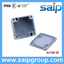 Saip New Paint Spray Diecast Aluminum Enclosures IP65 IP66SP-AG-FA1 64*58*35mm