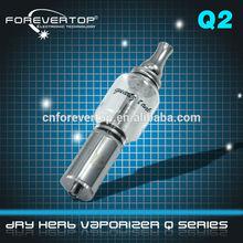 Caliente caliente caliente! Forevertop fabricante tuta q2 vaporizador de alta calidad ( 100% original )