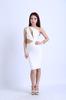 wholesale sexy lady white celebrity dress bandage dress new fashion 2013