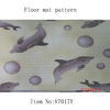 Perfect anti slip floor mat soft easy clean plastic carpet mat