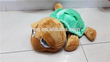 Crystal ultra soft tortoise toys for baby / Elephant ,monkey stuffed soft plush toys