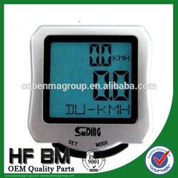 hot sale sport bike waterproof speedometer,bike wireless computer speedometer with high quality and good price