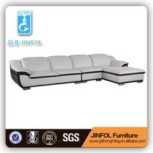 modern leather sectional sofa J833