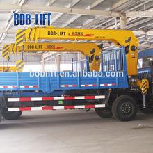 6t/9m Hot Sale Cheap Telescoping/Telescopic Boom Truck Mounted Crane Machine Construction SQ6.3SA2