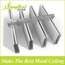 Environmental aluminum u shape ceiling aluminum linear ceiling