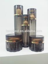 Glass Lotion Bottle& Jars Cosmetic Oval Elegant B-016