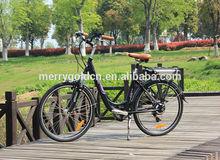 new women EN 15194 classical Electric city SWAN bike