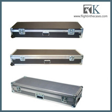 Hot selling! Keyboard flight case with With Pick & Fit Foam support custom-made china
