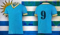 Custom sublimated big size soccer jerseys for man