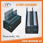 32 port gsm modem pool/sms gsm gateway