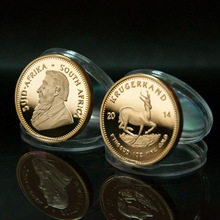 South Africa Krugerrand Round Coin 2014 no copy gold plated coin