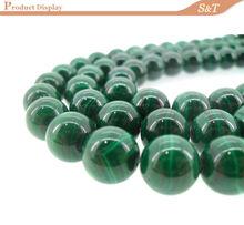 2014 China Manufacturer Wholesale 8mm natural gemstone malachite rough