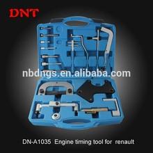De alta calidad de renault herramienta de sincronización set/para la fabricación de herramientas de auto reparación/motor profesional de herramientas de sincronización