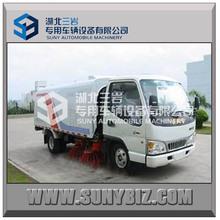 JAC 4*2 2axles vacuum road sweeper truck cleaning truck 120hp