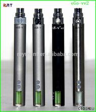2014 latest stainless steel ego vv3 battery variable voltage display ego vv2