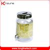 Acrylic 2.2G round plastic milk jug no leaking with spigot (KL-8014)