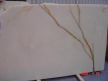 Iran imported decorative Snow White onyx marble