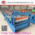 2014 top! Alta costela SB35-125-750 cor de cimento máquina de fazer telhado Tile