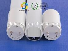 Autumn HK lighting fair new product PC plastic profile/ T8 LED fluorescent tube housing fitting