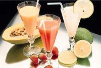 Papaya juice concentrate for bubble tea