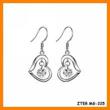 Wholesale Earring, Zircon Dangle Earring