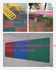 Outdoor playground rubber flooring for playground,rubber floor mat