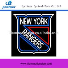 Mental Frame New York Rangers NHL Neon Sign