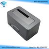 "2.5""/3.5"" usb3.0 to sata hdd case with wifi hdd docking station wifi usb hub card reader"