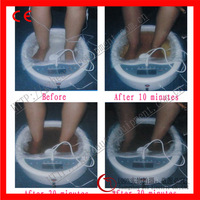 2014 new products two people detox foot spa machine