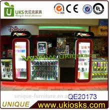 Unique phone cases display kiosk&phone accessories kiosk