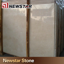 Chinese hot sales polished beige crema marfil marble
