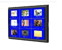wall mounted interactive 12.1 inch LCD digital touch advertising commercial screen