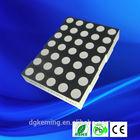 Round ultra bright 5x7 array dot 3.0mm 1.9mm matrix display module