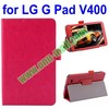 Fashionable Design Flip Case for LG G Pad V400 Accept Paypal