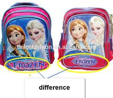 frozen school bag elsa child school bag anna school bag 2014