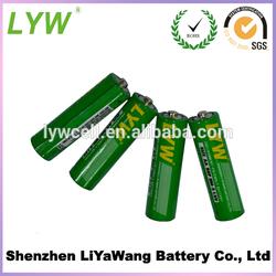 non alkaline batteries for r6 um3 1.5v dry battery in 2pcs per card