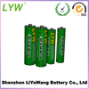r6 battery aa 1.5v heavy duty zinc carbon battery
