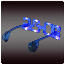 High quality Flashing EL Light Sunglasses with OEM Service for 2015 New Year, Christmas, Halloween, Thanksgiving Day Parties
