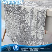 woven Guangzhou 100%cotton manufacturer modern table runner