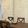 new popular printed voile curtain for office window