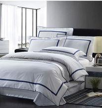 100%Cotton Satin Hotel Duvet Cover For Bedding Set