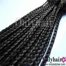 On Sale! Unprocessed human hair weft 100% cheap human hair weave africa braid hair