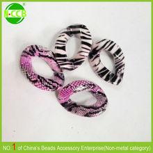 Alibaba China Bulk jewelry accessory snake chain custom printed beads