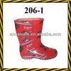pvc transparent rain boots/plastic boots for rain/kids rain boots/kids rain boots