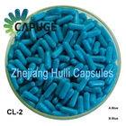 Blue Empty gel capsule Two piece pharmacuetical grade capsule pill for Packing material
