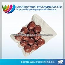 Food grade safety vacuum plastic cooked food packaging bag printed