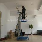 single mast aluminum alloy platform ladder