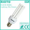 hangzhou lighting bulb 4U shape energy saving lamp bulb
